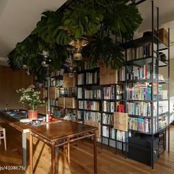 简单日式风格书房设计