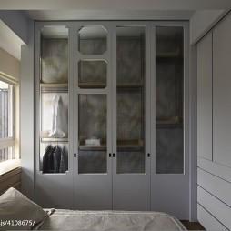 混搭风格二居室衣柜装修