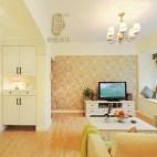 美式风格米色系客厅装修