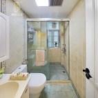 美式风格家居卫浴布局图