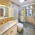 简单美式卫浴设计效果图