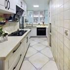 美式三居室厨房设计效果图