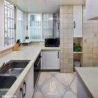 整洁美式厨房设计