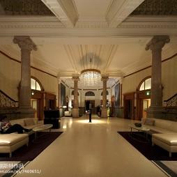 欧式酒店大厅装修