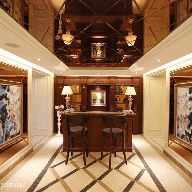 新古典风格风格家居书房设计