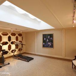 新古典风格地下室设计