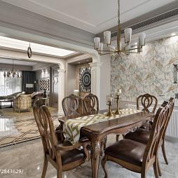 精致新古典风格餐厅装修
