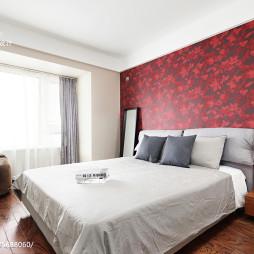 现代风格主卧室装修果图