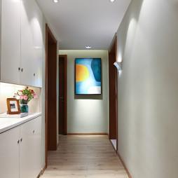 现代三居室过道设计