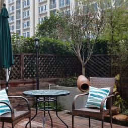混搭风格二居室花园设计