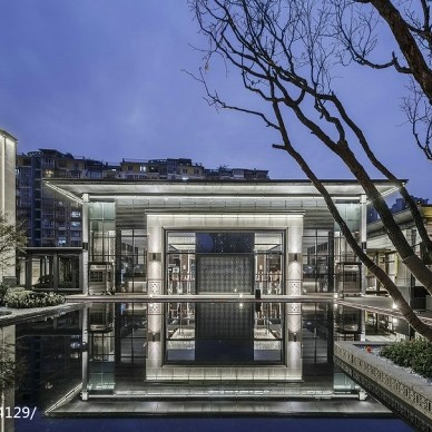矩阵纵横作品—成都蓝光雍景阁销售中心_2522191