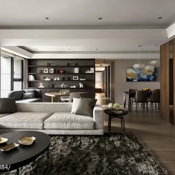 别墅现代风格客厅装修