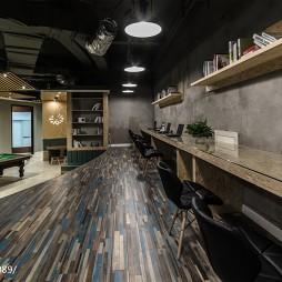 开放式办公空间地板设计