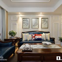 美式风格客厅装修方案