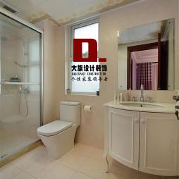 中式风格白色卫浴设计