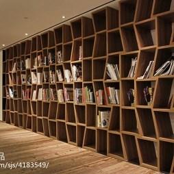 设计办公室书架装修