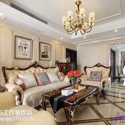 最新新古典风格客厅设计