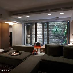 简朴现代风格别墅客厅设计