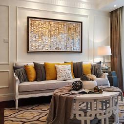 样板房简欧风格客厅设计图
