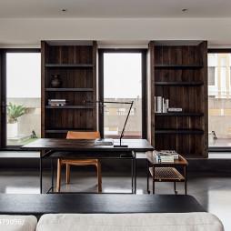现代风格书房装修案例图