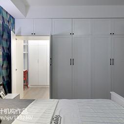 混搭风格二居室衣柜设计