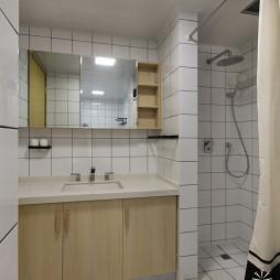 清爽日式卫浴装修