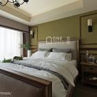 舒适美式二居室卧室装修