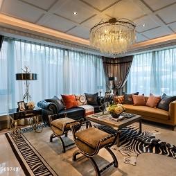 家居混搭风格客厅装修
