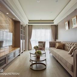舒适现代风格别墅客厅设计