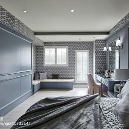 现代风格别墅卧室设计