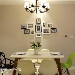 现代风格时尚照片墙装修