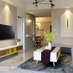 舒适现代风格客厅装修大全