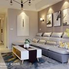 舒适现代风格客厅效果图欣赏
