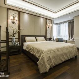 中式雅韵卧室布置