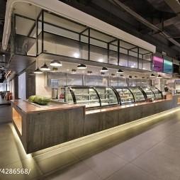 过江龙餐厅展示柜设计