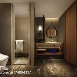 华美达度假酒店客房卫浴设计