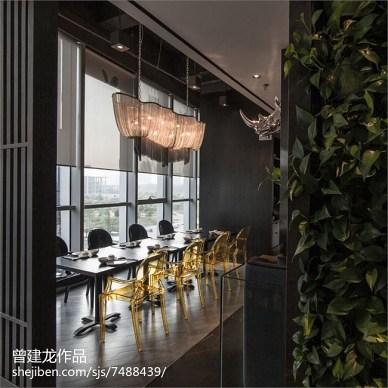 采蝶轩餐厅就餐区设计