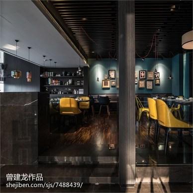 工装采蝶轩餐厅设计效果图