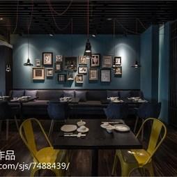 采蝶轩餐厅照片墙设计