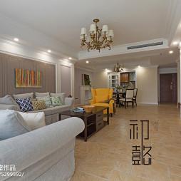 大气美式四居室客厅设计