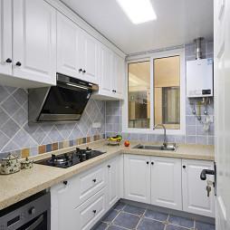 时尚美式二居室厨房设计