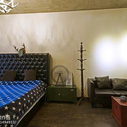 LOFT风格简单卧室设计