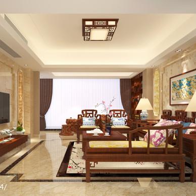 中式风格客厅_2533094