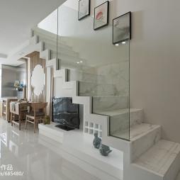 现代日式风格楼梯装修