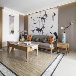 简雅日式客厅样板间设计