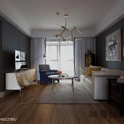 最新混搭风格客厅设计