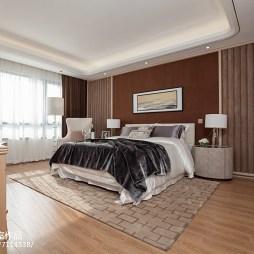 样板房现代风格家居卧室设计