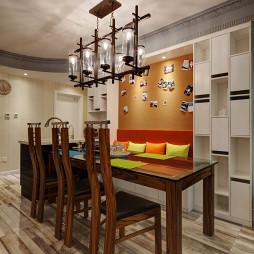 精美现代风格别墅餐厅设计