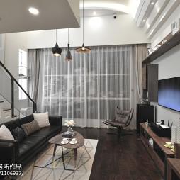 现代风格复式小客厅设计