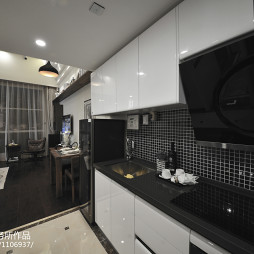 2017现代风格二居室厨房设计
